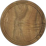 Doska na krájanie okrúhla pr. 25cm TMAVÁ drevo VARENIE