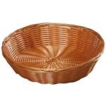 Košík na pečivo KESPER okrúhly pr. 26x6cm plast
