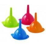 Lievik pr. 10cm plast rôzne farby VARENIE