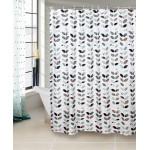 Sprchový záves, 180x180cm, polyester, TORO KÚPEĽŇA