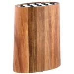 Blok na nože ,agatové drevo VARENIE