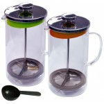 Kanvica na ča/kávu s filtračným sitkom 1L + dávkovacia lyžica STOLOVANIE