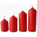 Sviečka ADVENT 4ks červená Sviečky, darčeky