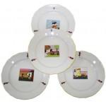 Tanier plytký, detský, pr. 21,2cm, porcelán STOLOVANIE