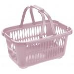 Košík nákupný 19,4L LILA 46x32x22cm plast