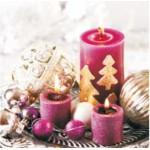 Servitky 20ks /3-vrstvy,33x33cm/ VIANOCE-sviečky SVIEČKY, DARČEKY, PÁRTY
