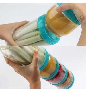 Dóza INTERLOCK 180ml, BPAfree plast, LOCK & LOCK  SKLADOVANIE POTRAVÍN A DÓZY